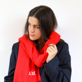 Personalised Red Scarf