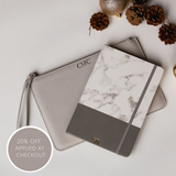Pouch & Notebook Package - Grey