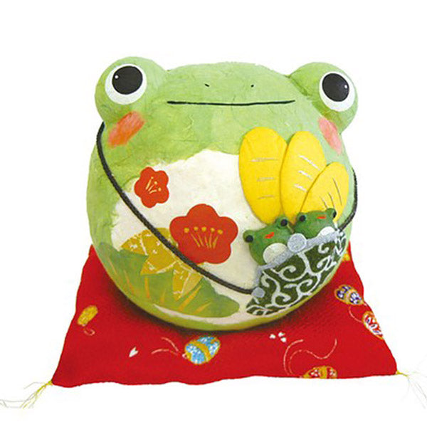 Figurine Grenouille Fortune XL - Kawaii Papier Maché | Moshi Moshi Paris