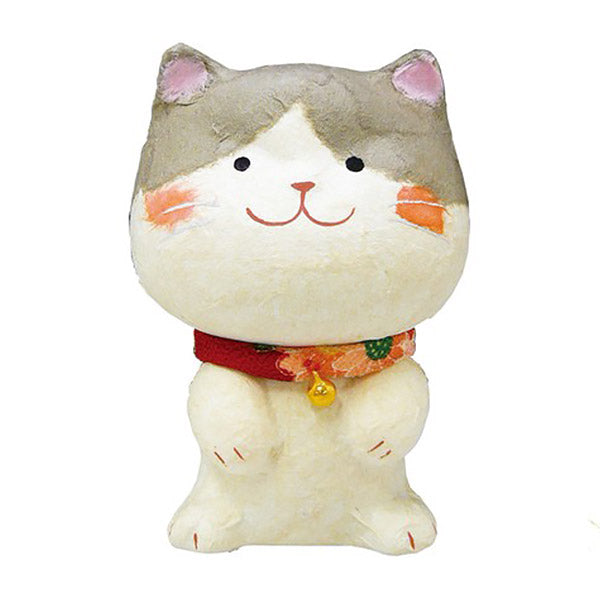 Chat Japonais en Papier Mache - Kawaii | Moshi Moshi Paris