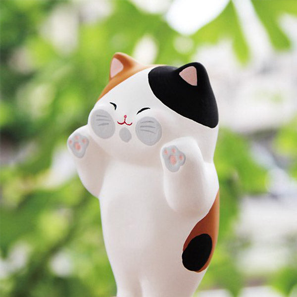 Chat Tête Aplati - Décoration Kawaii Japon | Moshi Moshi Paris