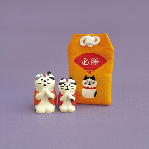 Mini Figurine Japonaise Kawaii - Chat | Moshi Moshi Paris