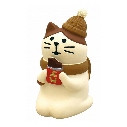 Mini Figurine - Chat Chocolat