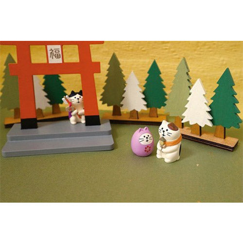 Mini figurine japonaise Chat - Kawaii | Moshi Moshi Paris