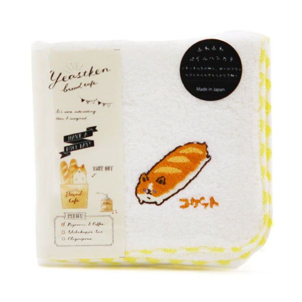 Serviette bread and coffee - Corky | Moshi Moshi Japan