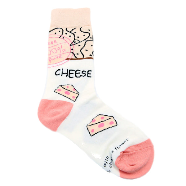 Chaussette Grafy - Cheese Pink