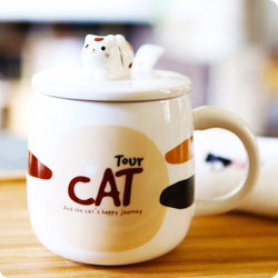 Tasse Mug Chat Kawaii - Cat Tour | Moshi Moshi Paris Japon