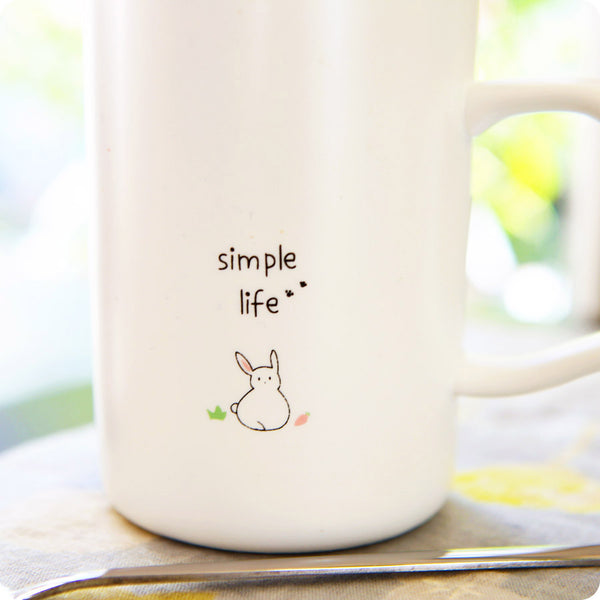 Tasse Kawaii et Fun - Animaux Lapin | Moshi Moshi Paris