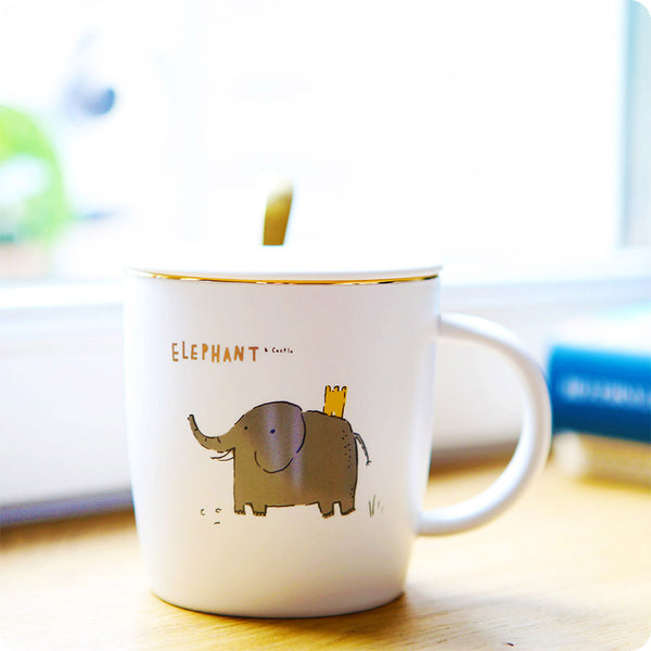 Tasse Kawaii Design Animaux - Iza Elephant | Moshi Moshi Paris