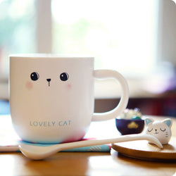 Tasse Kawaii Chat - Lovely Cat | Moshi Moshi Paris