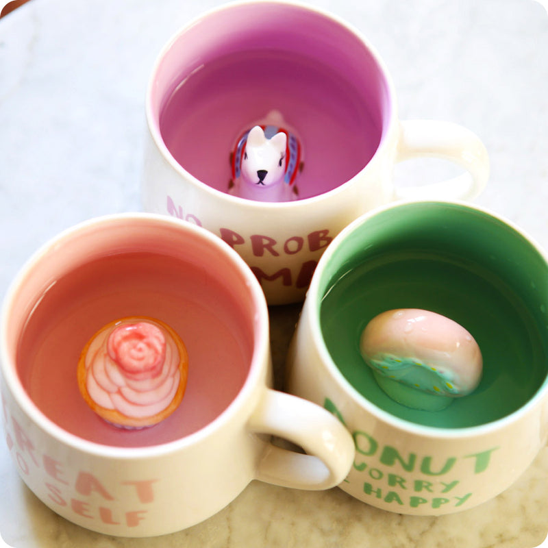 Tasse Kawaii - Cup Cake Treat Yo Self | Moshi Moshi Cadeaux