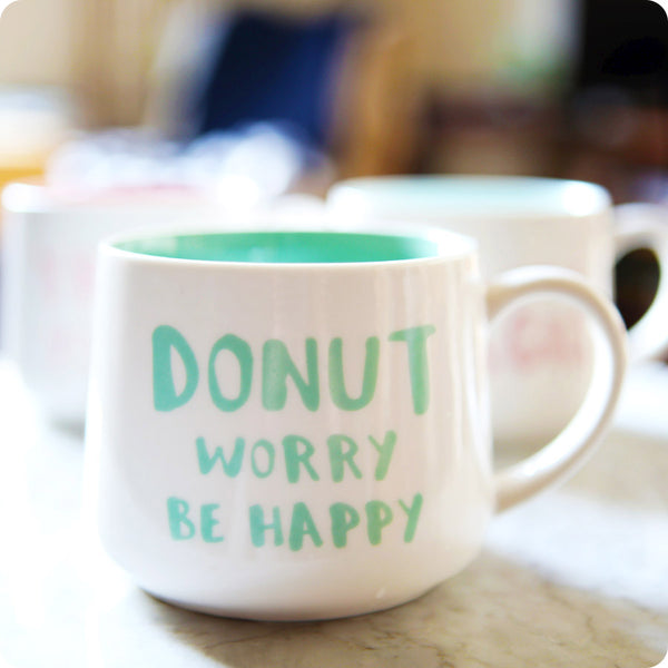 Tasse Kawaii Fun - Donut Worry Be Happy | Moshi Moshi Paris