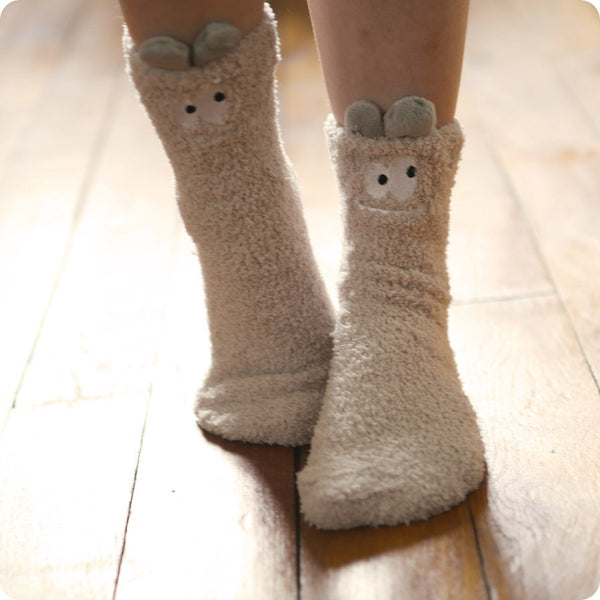 CHAUSSETTE D'INTERIEUR MONSTER GREY