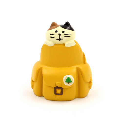 Mini Figurine - Chat Cartable