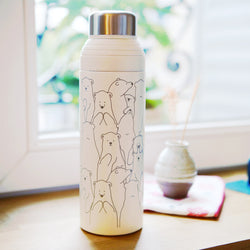 Thermos Kawaii Ours - Avec Paille | Moshi Moshi Paris Japon