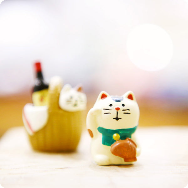 Mini Figurine - Chat Taiyaki