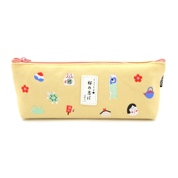 trousse kawaii, motif japon