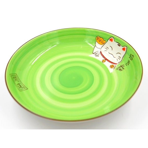 ASSIETTE MANEKO GREEN S