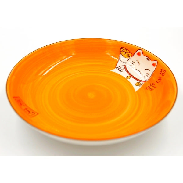 ASSIETTE MANEKO ORANGE S