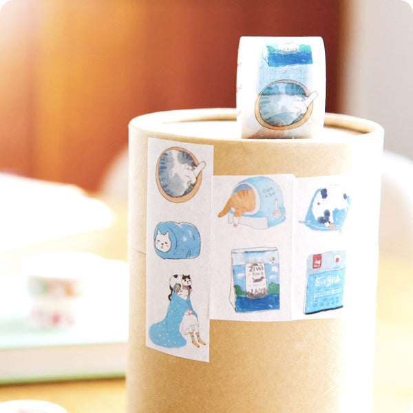 Masking Tape Chat Japon Kawaii | Moshi Moshi Paris
