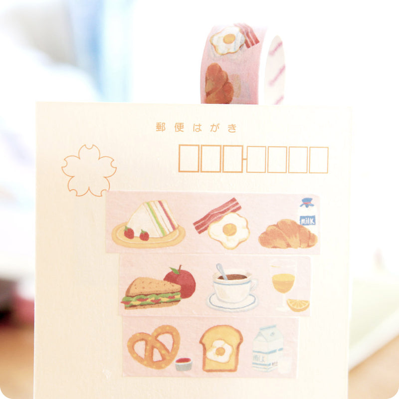 Masking Tape Kawaii - Breakfast | Moshi Moshi Paris