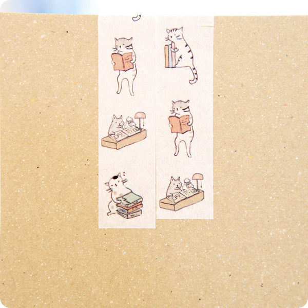Masking Tape Chat Blanc - Kawaii | Moshi Moshi