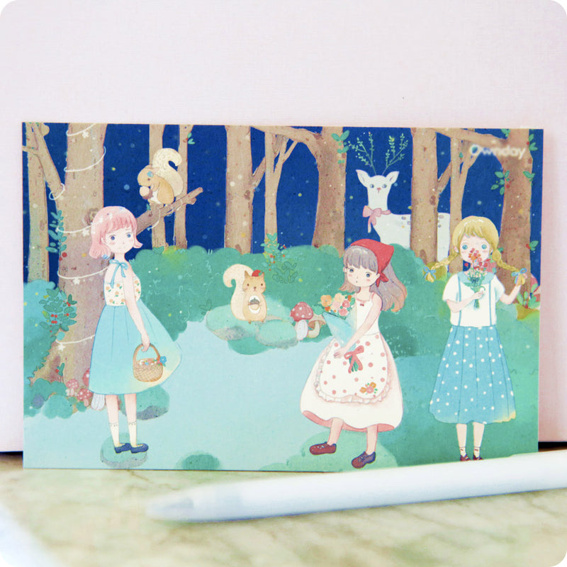 Coffret Papeterie Fairy Forest Lapin - Happy Usagi