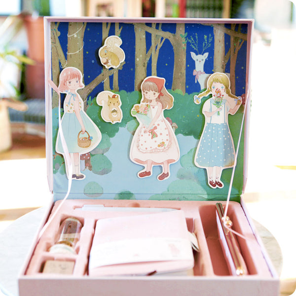 Coffret Papeterie Lapin Rose - Kawaii | Moshi Moshi Paris
