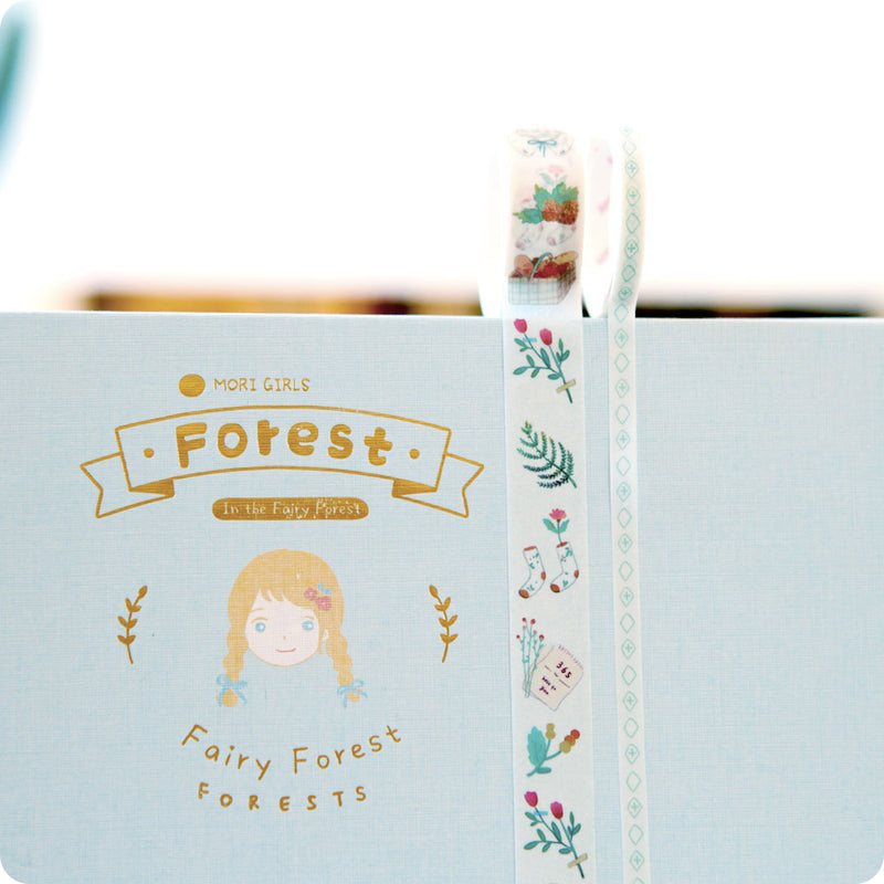 Coffret Papeterie Fairy Forest - Little Miss, Bleu