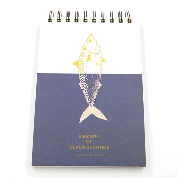 Sketchbook Kawaii - Poisson | Moshi Moshi Papeterie Paris Japon