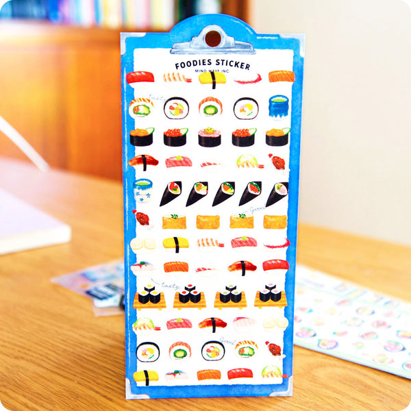 Stickers Foodies Sushi - Kawaii | Moshi Moshi Paris Japon