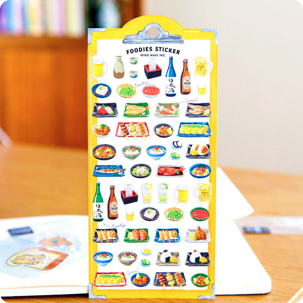 Stickers Foodies - Japanese Izakaya | Moshi Moshi Paris