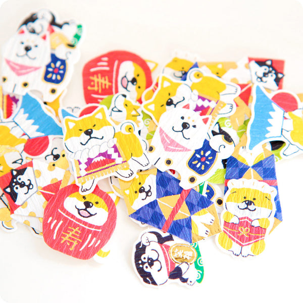 Stickers Shiba Inu - Kawaii Japan | Moshi Moshi Paris