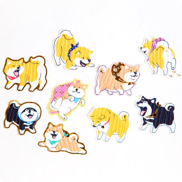 Stickers Shiba Kawaii - Made in Japan | Moshi Moshi Paris