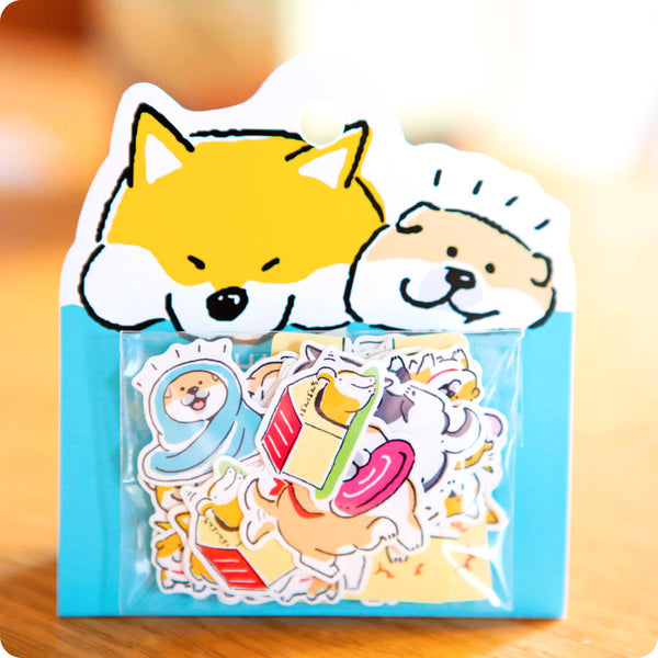 Stickers Box Shiba Inu - Hello You!