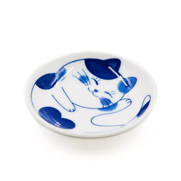 Coupelle Japonaise Chat Nekobura - Blanc | Moshi Moshi Paris