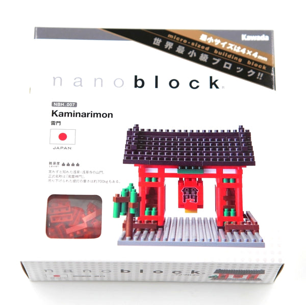 Nanoblock Kaminarimon Japan