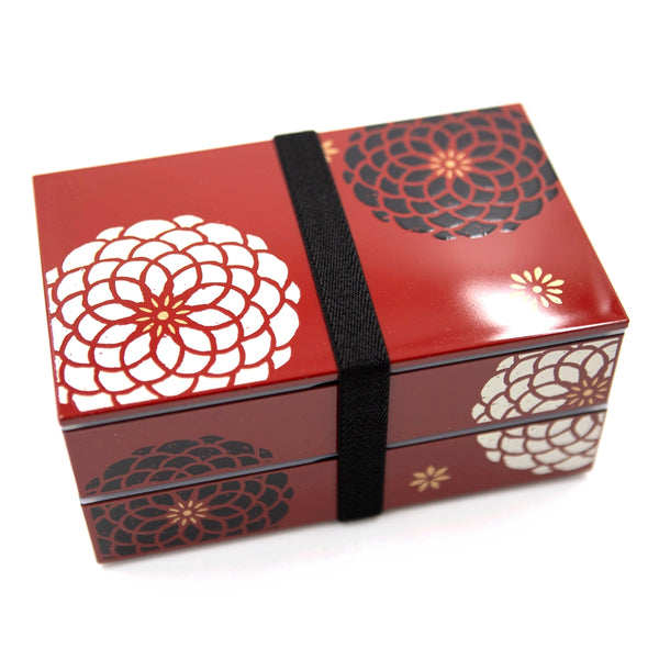 boite bento traditionnel rouge - japan