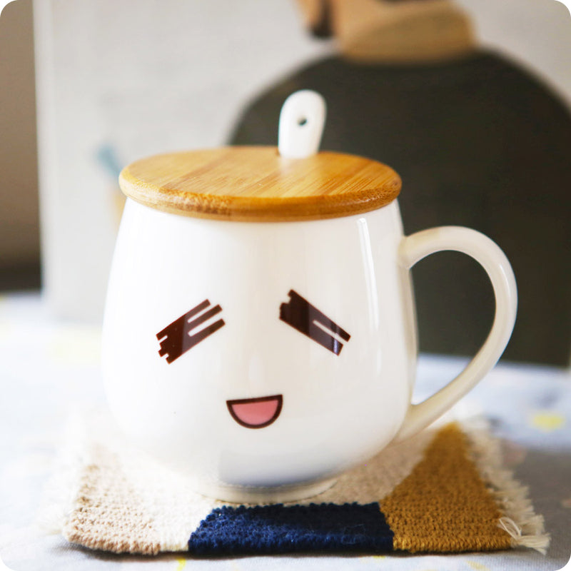 Mug Tasse Emoji Thristy - Kawaii, Fun et Design | Moshi Moshi Paris