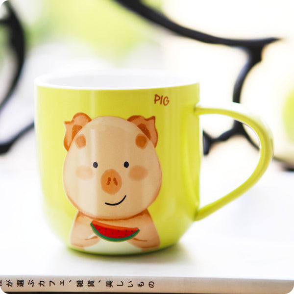 Tasse Tea Time Pig - Cochon, Kawaii Design | Moshi Moshi Japon