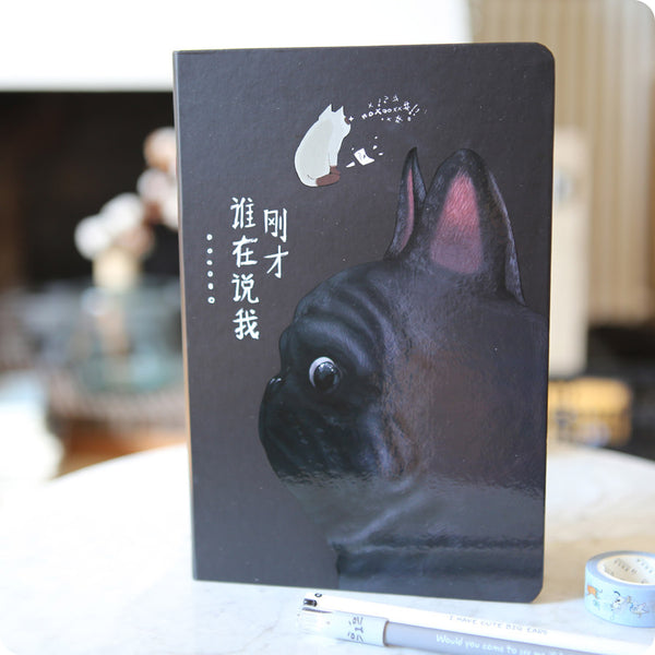 Carnet Kawaii Bulldog - Notebook