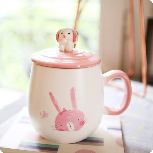 Tasse Lapin Rose Usagi - Kawaii et Design | Moshi Moshi Paris
