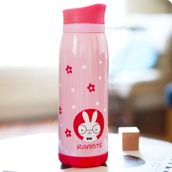 thermos kawaii lapin - bouteille isotherme lapin