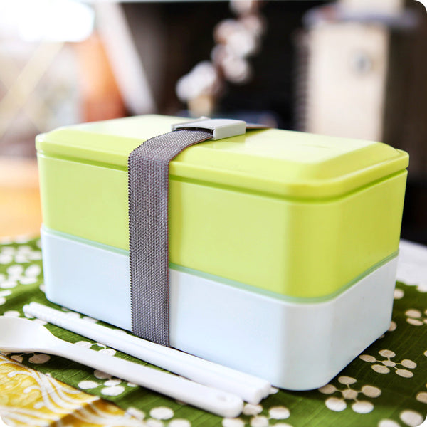 bento box design tofu XXL - lunch box design | vert