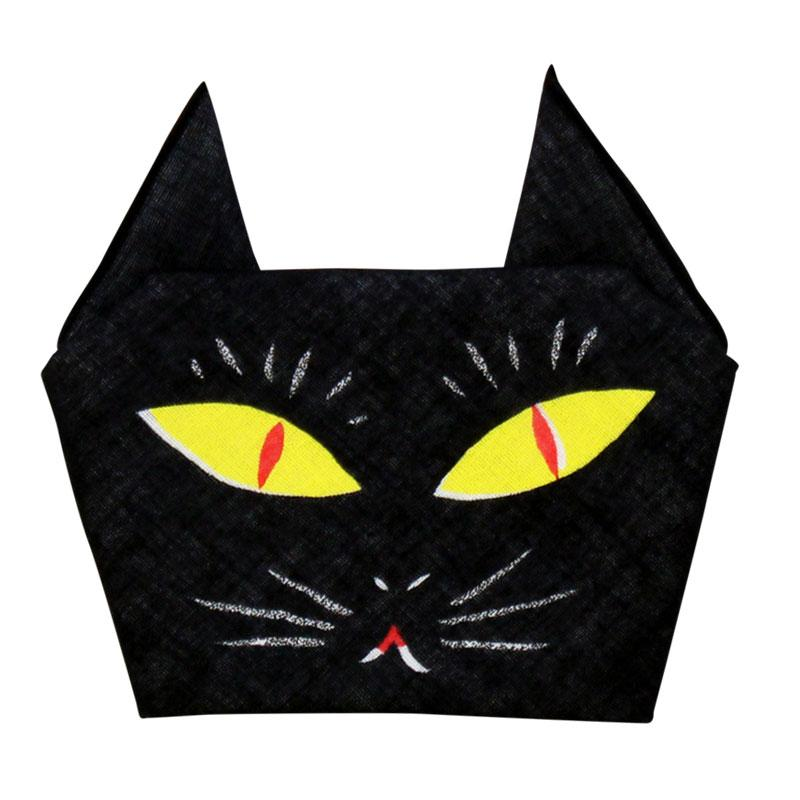 Kawaii Origami Handkerchief - Chat Noir