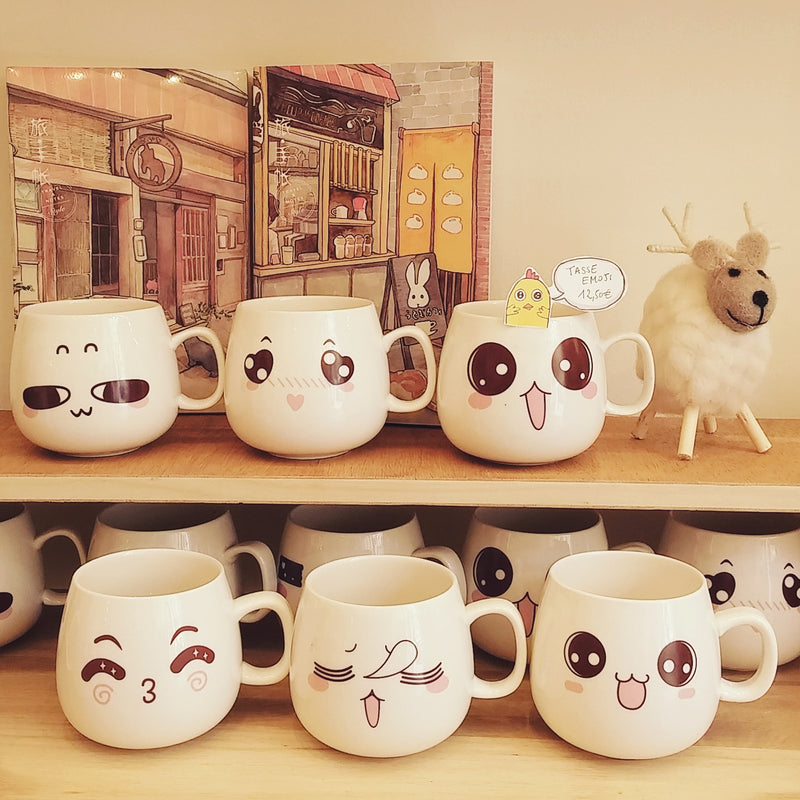Tasse Emoji Happy Day - Kawaii Design | Moshi Moshi Paris