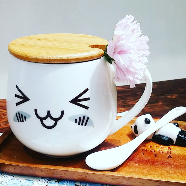 Tasse Emoji Happy - Kawaii, Fun et Design | Moshi Moshi Paris