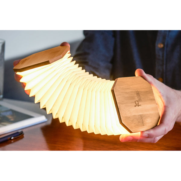 Lampe Accordeon Gingko - Bambou | Moshi Moshi Paris