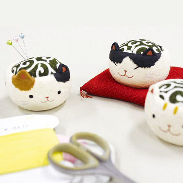 Pelote Epingle Chat Kawaii - Japon | Moshi Moshi Paris