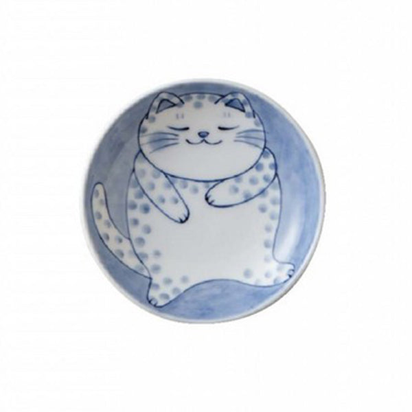 Coupelle Japonaise Chat Nekobura - Pois | Moshi Moshi Paris